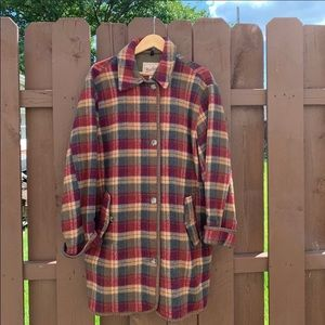 Vintage Woolrich Wool Peacoat Size Medium